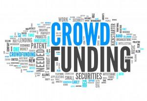 """Word Cloud """"Crowd Funding"""""""